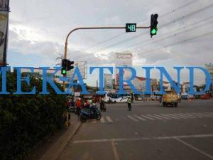 Counter Down Lalulintas - Traffic Light - PT. Firza Meka Trindo - indotraffic.net