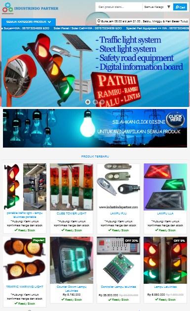 Toko Online - Industrindo Partner